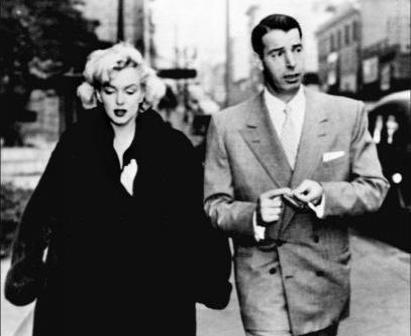 Marily Monroe had three marriages that ended in divorce, including one with Joe DiMaggio.