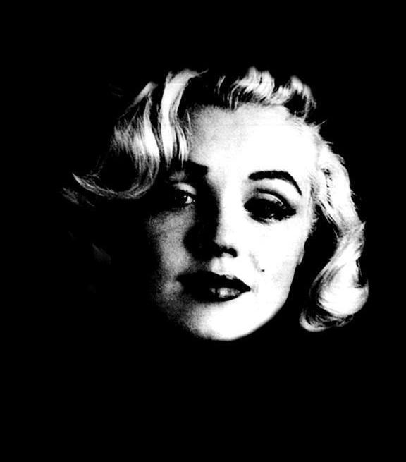 Marilyn Monroe, a celebrity and sex symbol of the 1950s and 1960s, was featured in Andy Warhol's works.