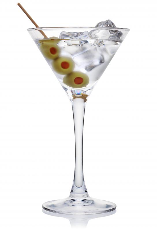 A speakeasy was a place to get illegal alcoholic drinks, such as a martini.