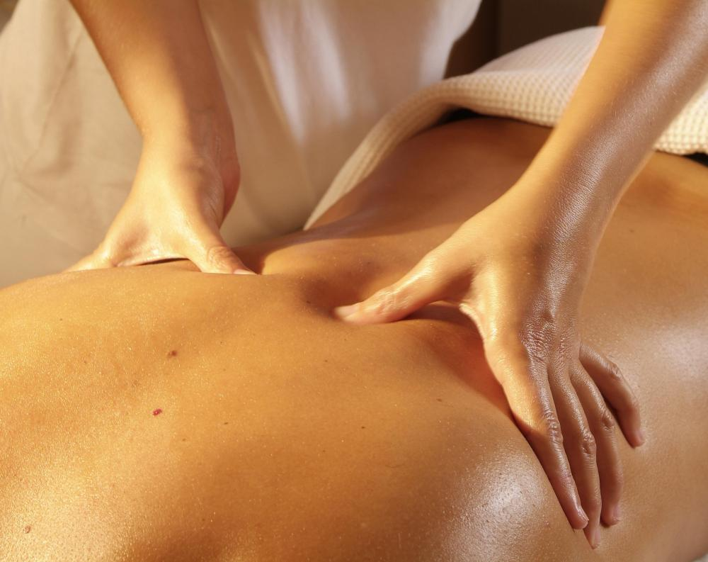Massage can be especially effective at loosening tight muscles in the back and neck.