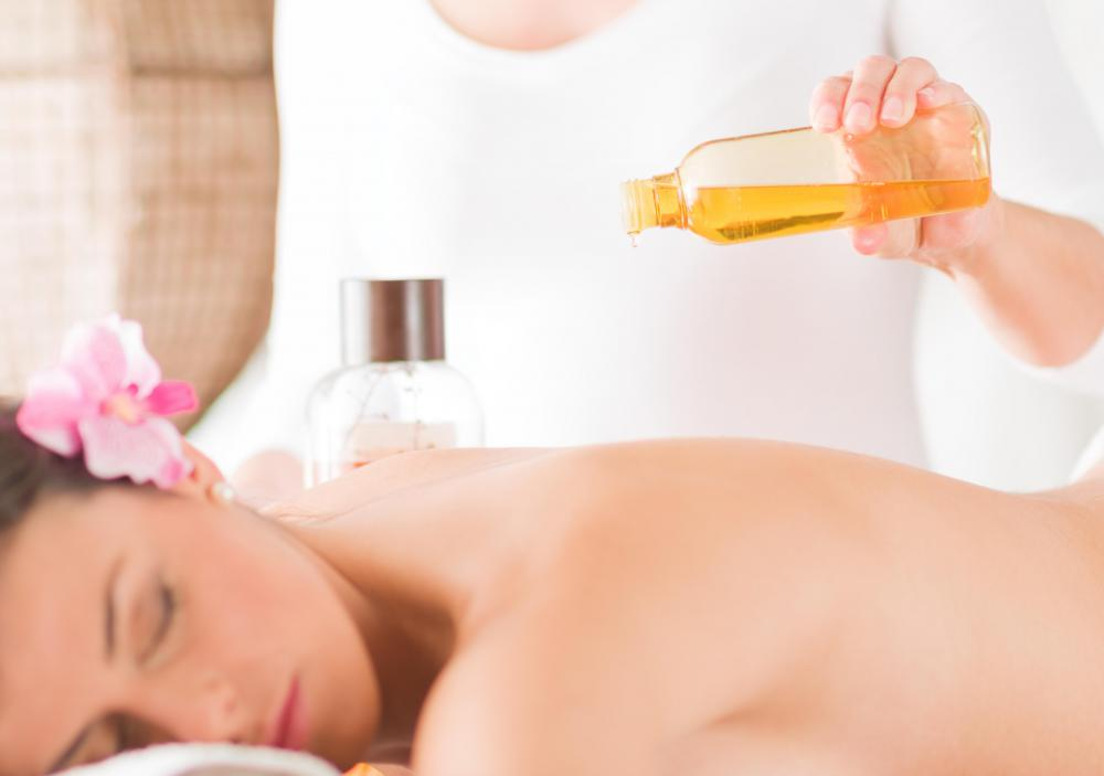 Almond oil is popular among massage therapists because of its moderately low price.