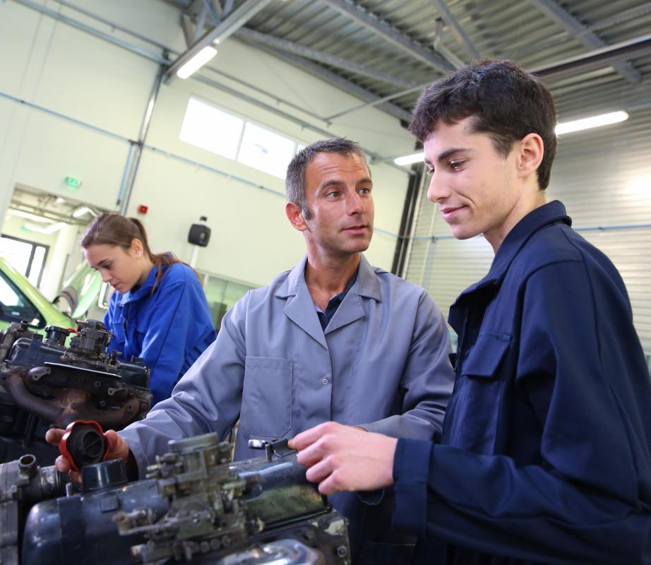 Two-year degrees are the most common type of vocational degree.