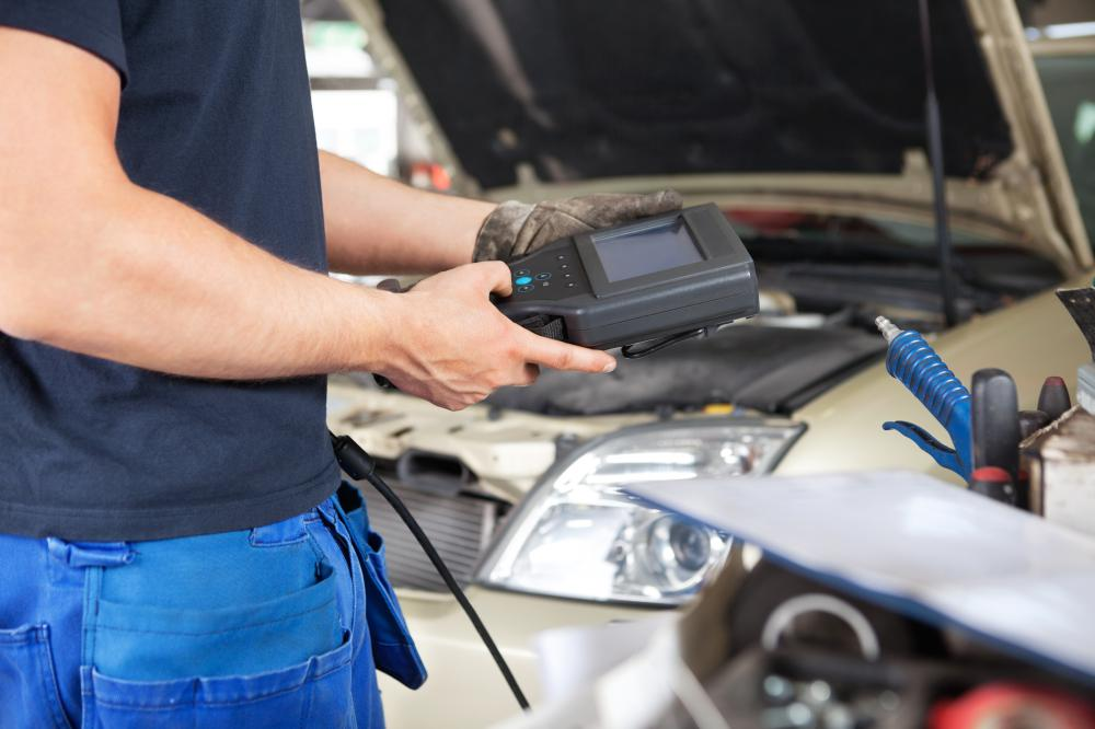 An issue with an EGR valve is often diagnosed through reading the car's diagnostic trouble codes.