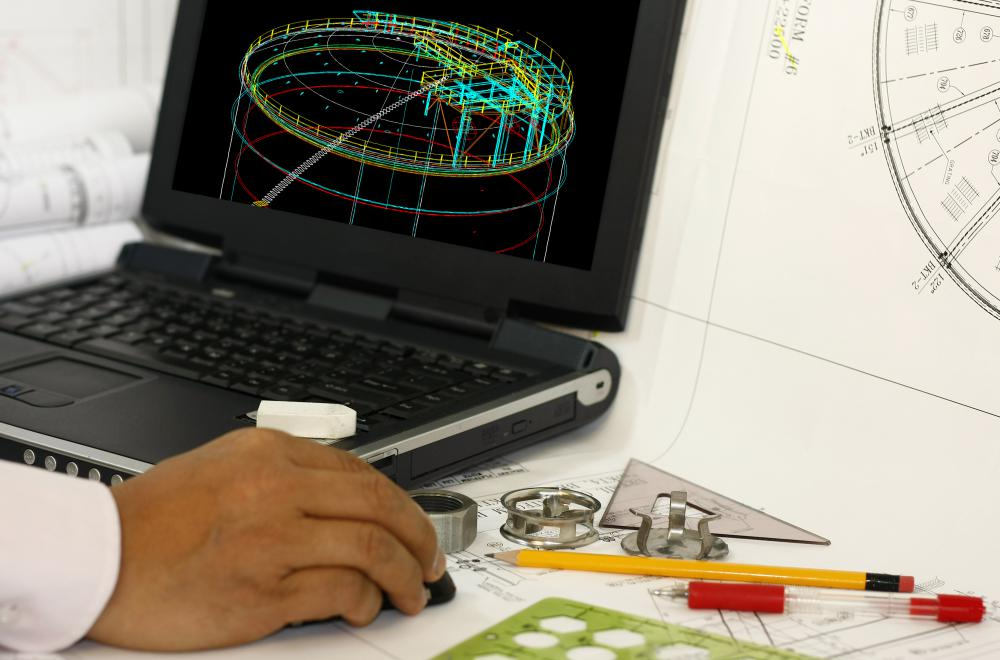 Computer-aided engineering (CAE) programs and computer-aided design (CAD) programs allow engineers to design and even test many of their ideas on computers.