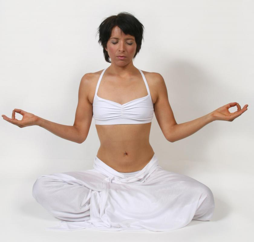 Meditation may be done to achieve balance, which is key to ying and yang.