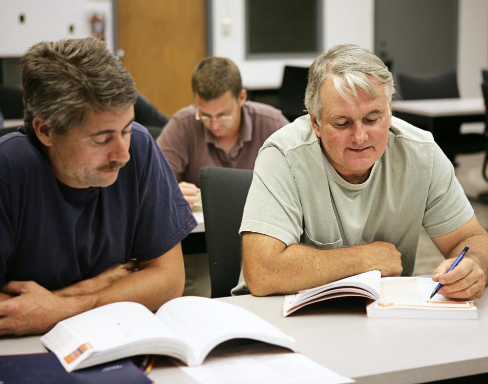 Many continuing education programs may offer courses during the evening to accommodate working adults.