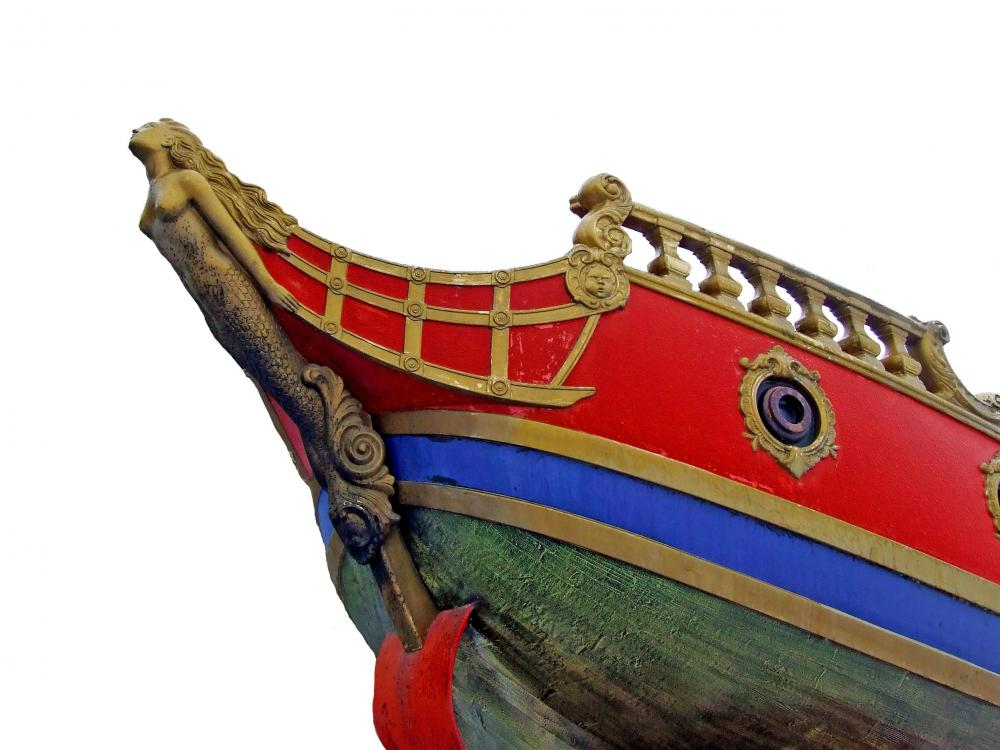 Most Older European Ships Had Figureheads