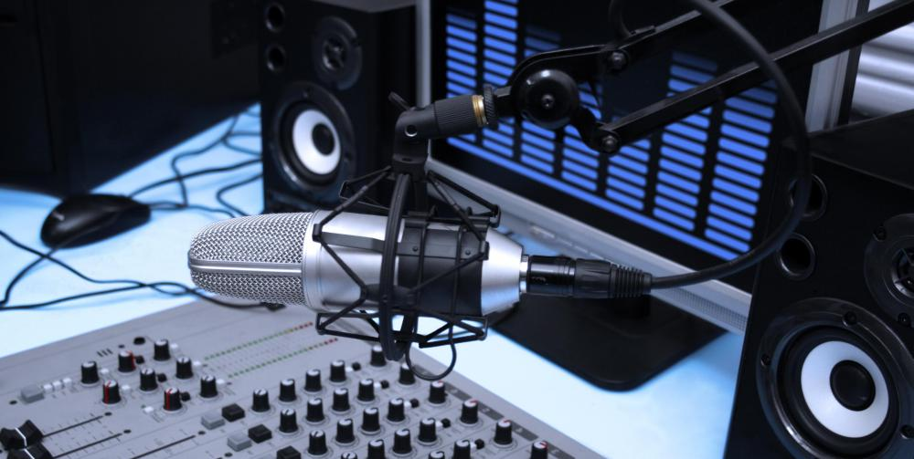 Radio personalities often conduct telephone interviews with famous or important people live on the air.