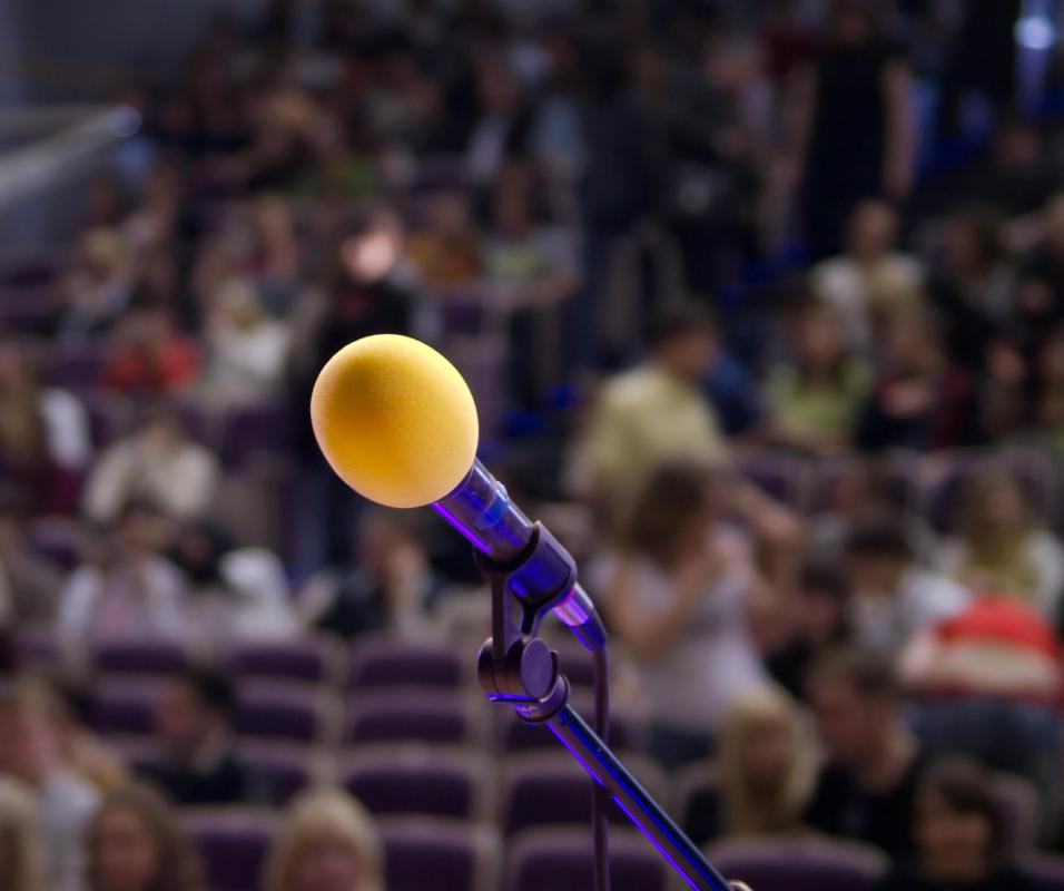Most people have mild to moderate stage fright when speaking or performing in public.