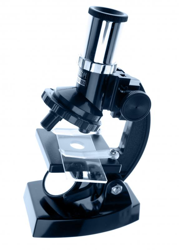 A basic microscope.