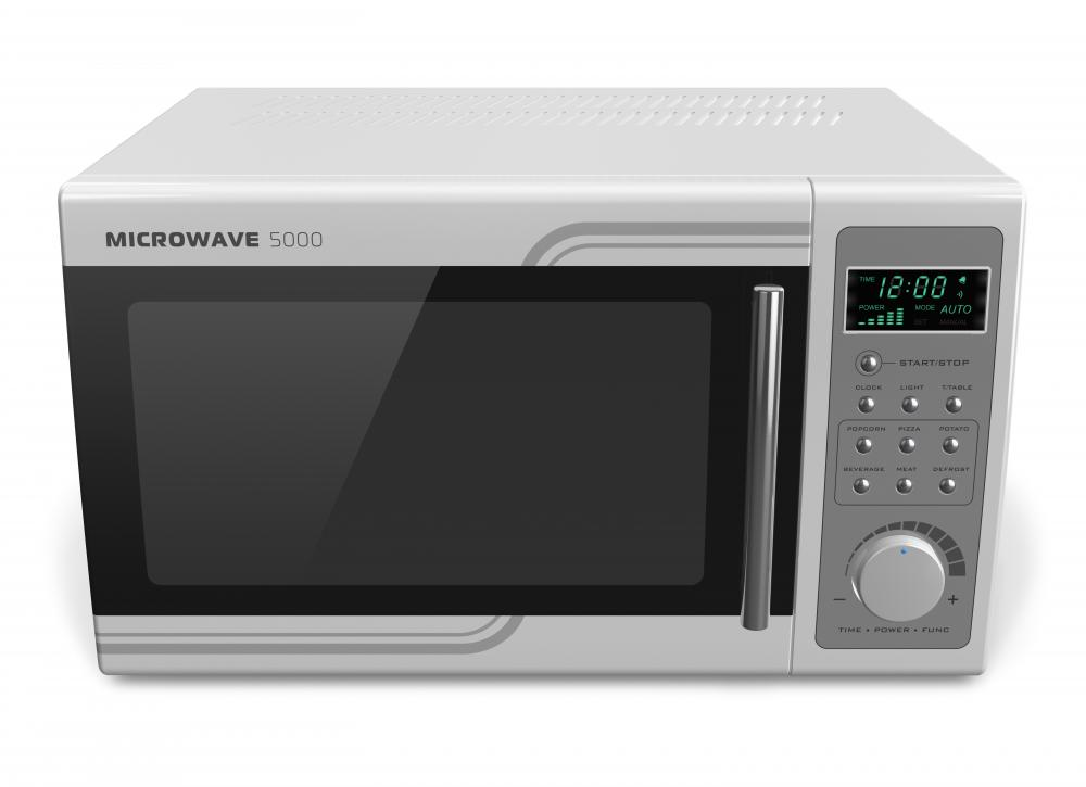 Microwave ovens contain nearly all of the radiation they produce inside.