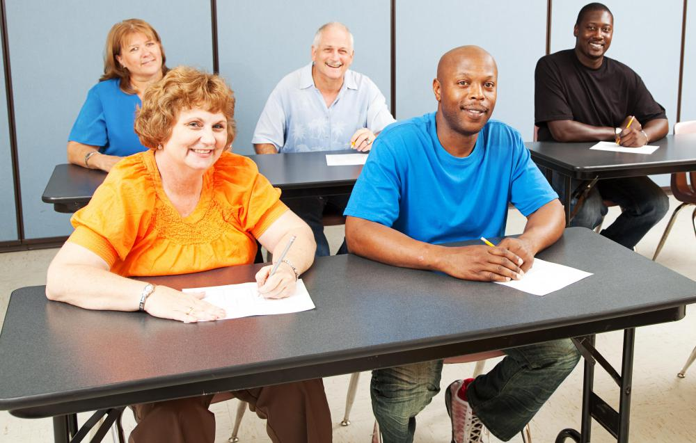 Adult education centers allow adults to learn new skills, which may lead to better job opportunities.