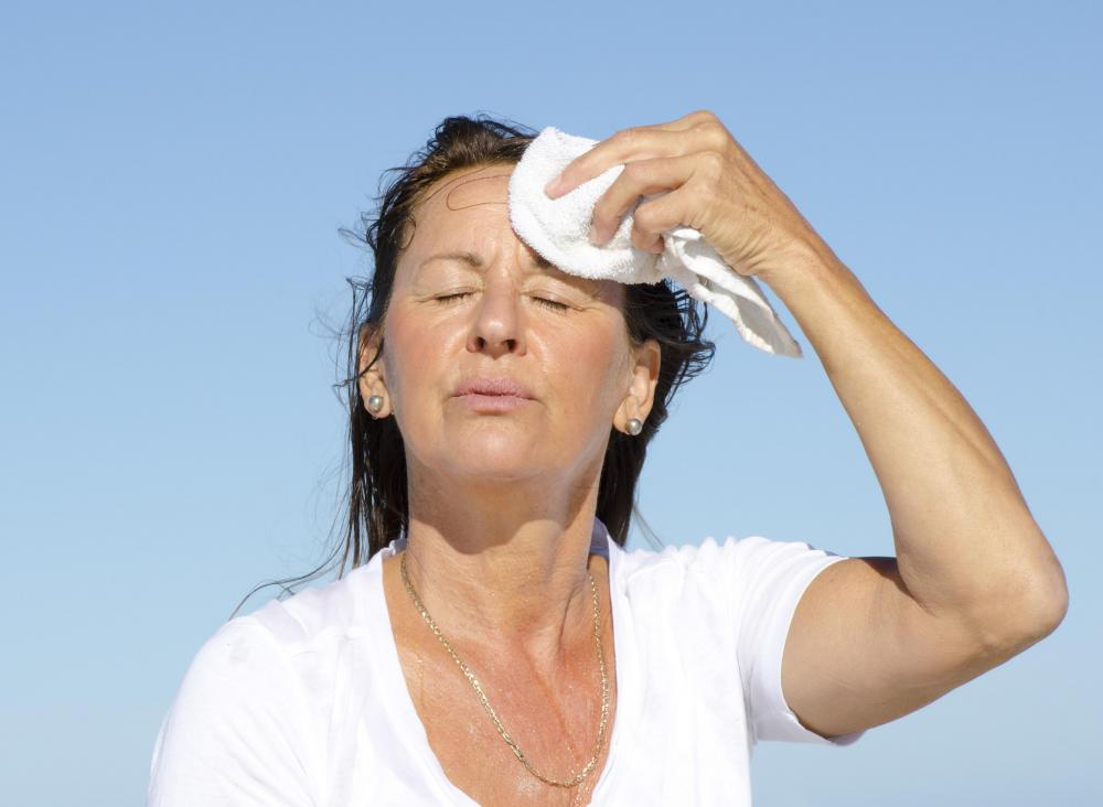 Heat exhaustion can happen at any time of day.
