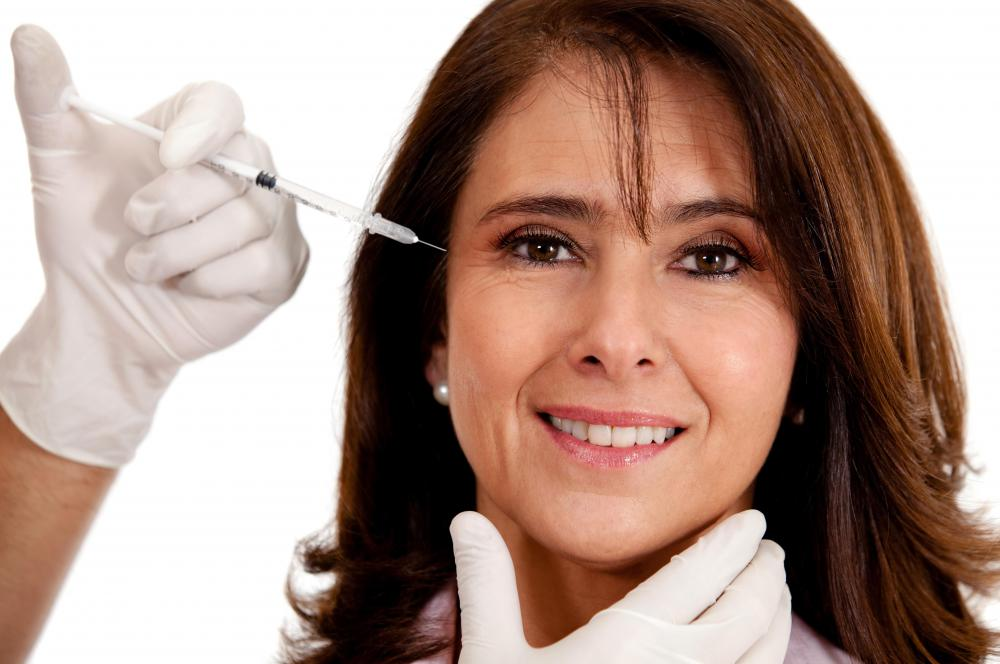 People commonly get Botox® injections around their eyes.