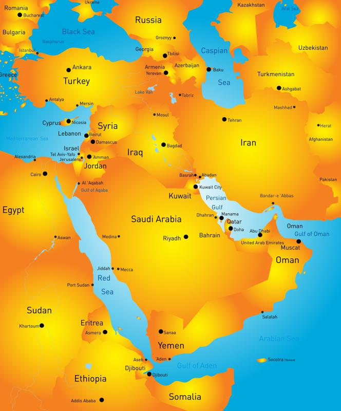 The Middle East is one area where people can contract plasmodium vivax.