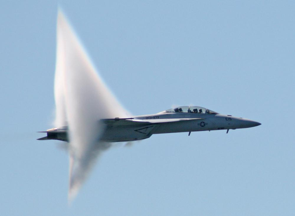 What Is The Sound Barrier With Pictures