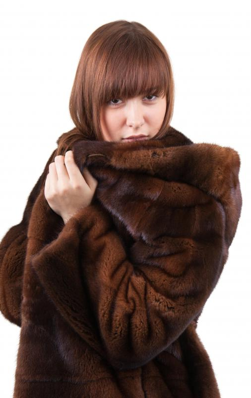 What is a Mink Coat? (with pictures)
