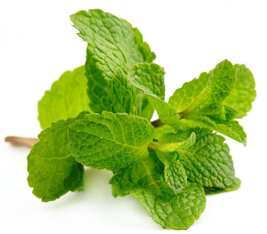 A sprig of mint can be used to garnish a Mai Tais.