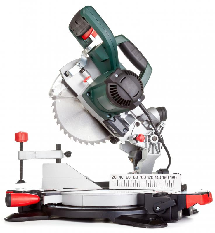 Carpenters must know how to safely operate machinery and power tools, including miter saws.