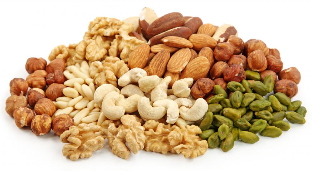 Tree nuts are a common source of allergies in people.