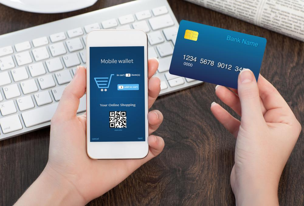 An e-wallet can automatically fill out information and offer payment for online purchases.