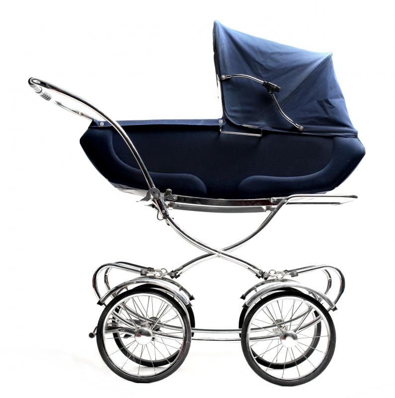 A carriage or stroller makes for a great gift.