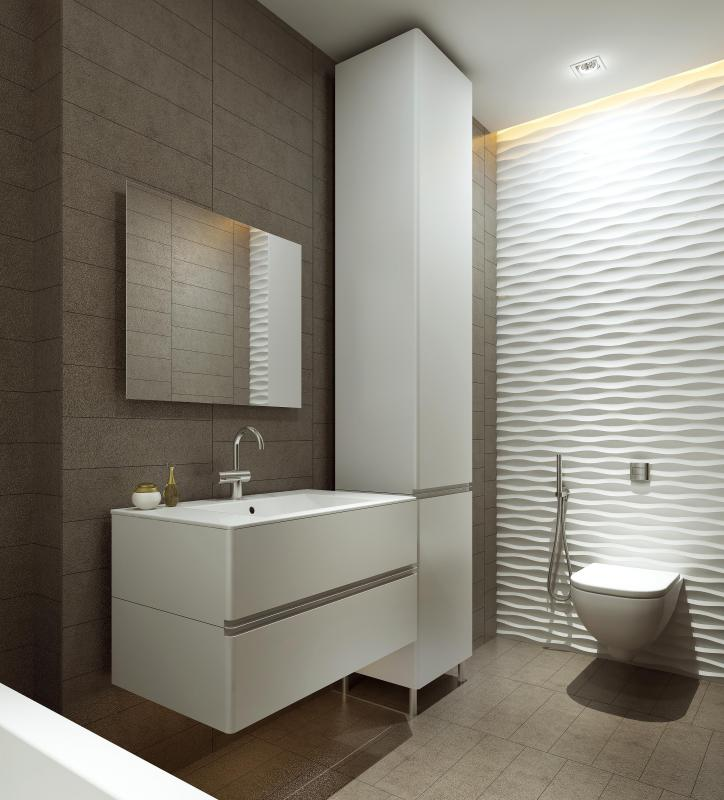 What does an interior design company do with pictures for Bathroom designs companies