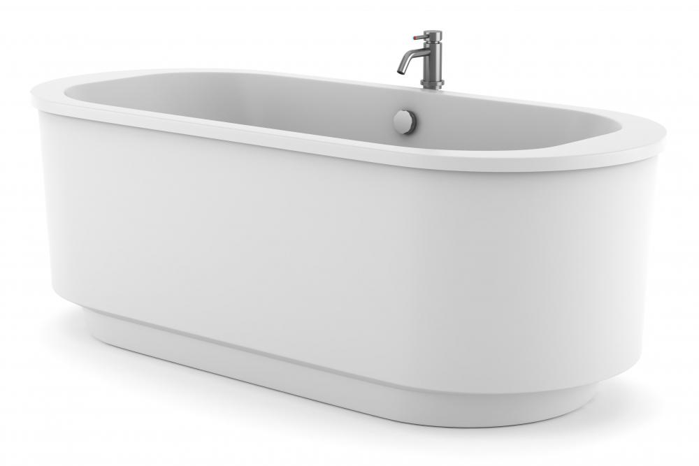 One Downside Of A Porcelain Bathtub Is That They Are Extremely Heavy.