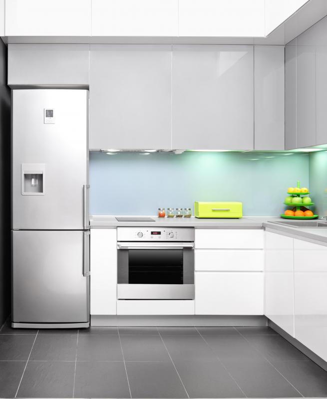 All kitchen appliances can look like they match with peel and stick stainless steel.
