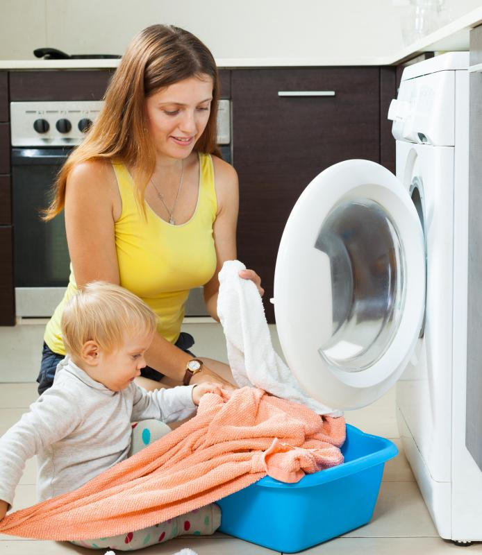 Live-in nannies may have light cleaning duties.