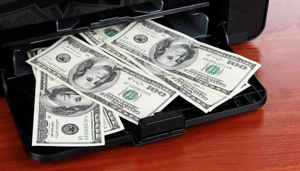 Return fraud may be a way to exchange counterfeited money for authentic bills.