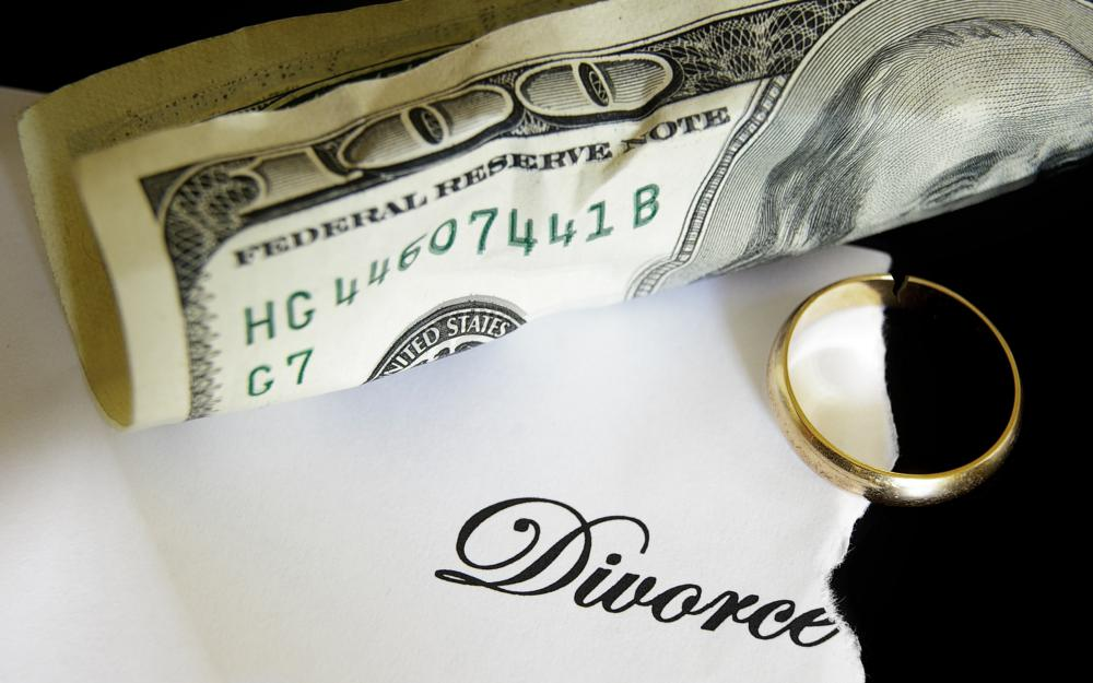 Financial affidavits are required to determine alimony as part of a divorce.