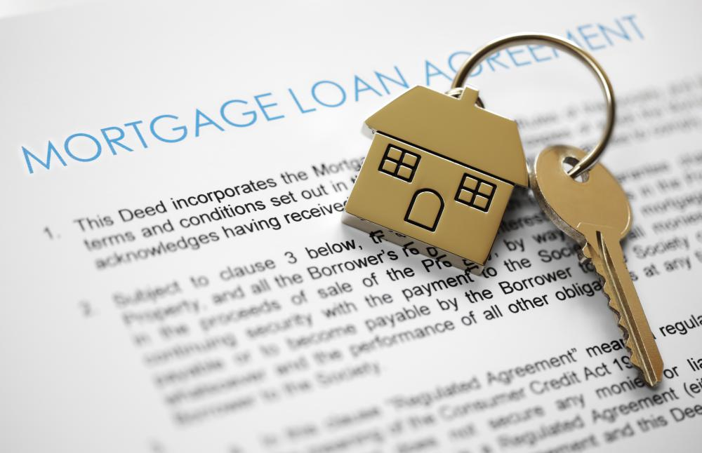Banks may use debt collectors to collect on outstanding mortgages.