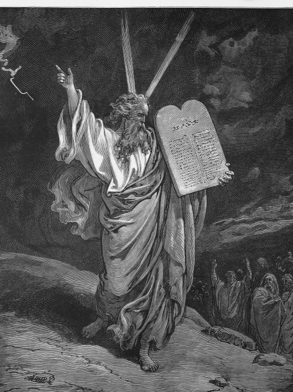 Moses is believed to have spoken directly to God.