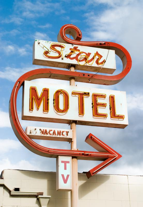 Many motels offer free postcards.