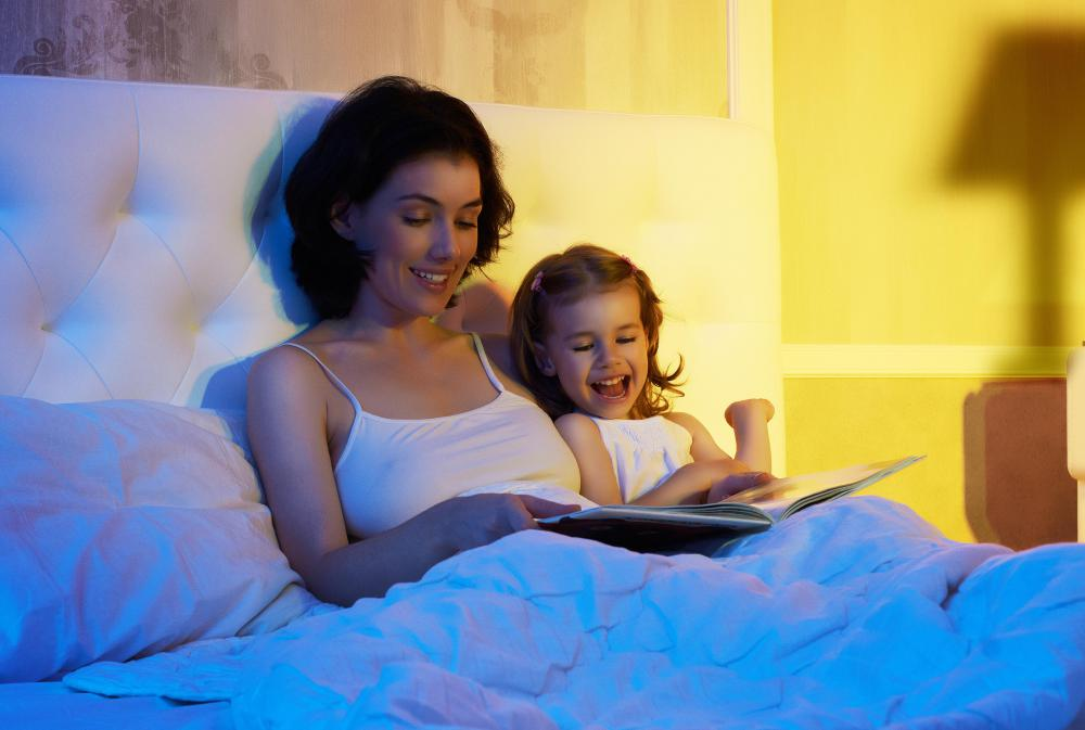 Bedtime doesn't have to be the only time to read with a child.