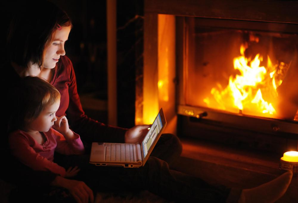 most fireplace blowers are not visible when looking at the fireplace