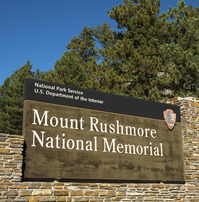 National monuments are overseen by the Parks Service.