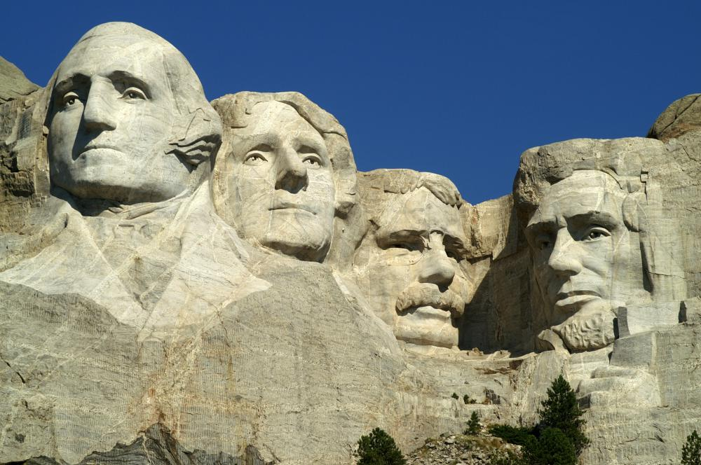 Mount Rushmore took 14 years to carve.