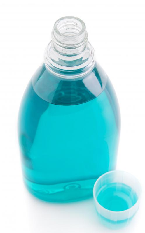 Mouth wash should be used after a tongue piercing.