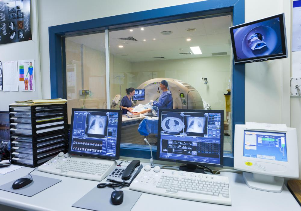 An MRI scan is often used to diagnosing injuries or spotting abnormalities.