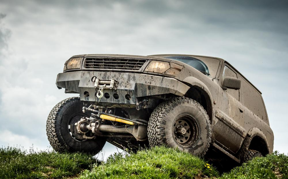 Some 4x4 owners drive off road regularly and aggressively.