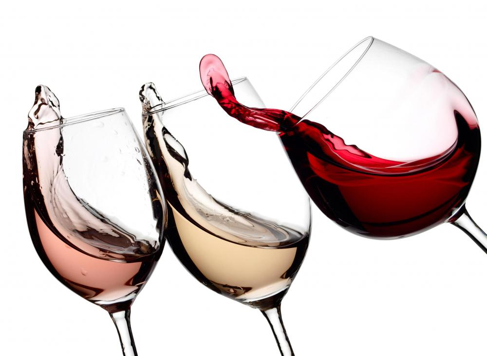 Some people prefer a different style of glass for each variety of wine.