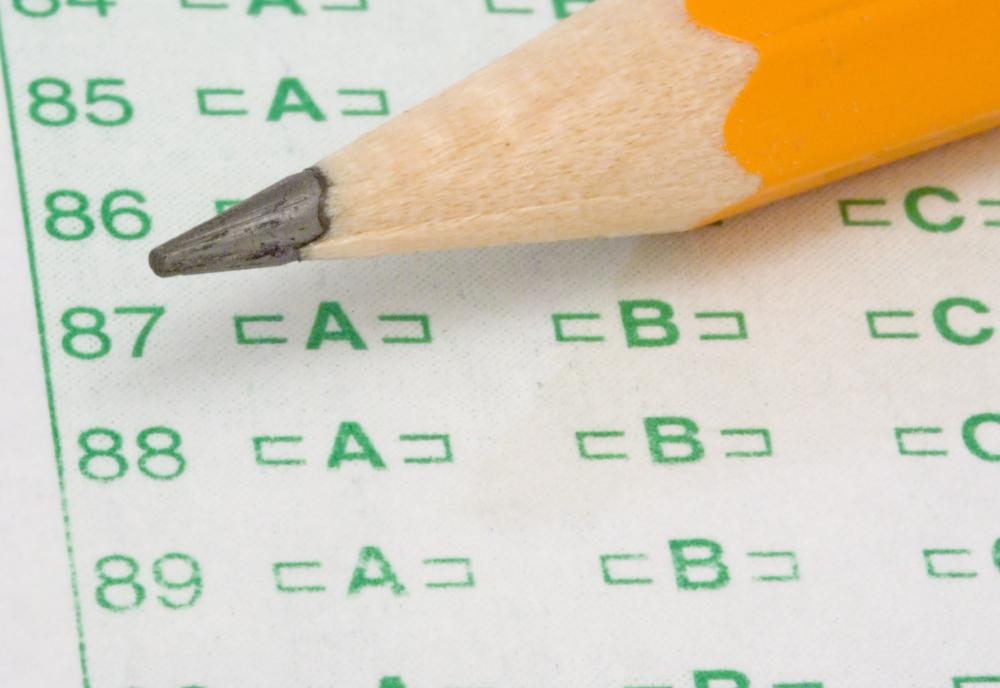 All five sections of the GED test include multiple choice tests.