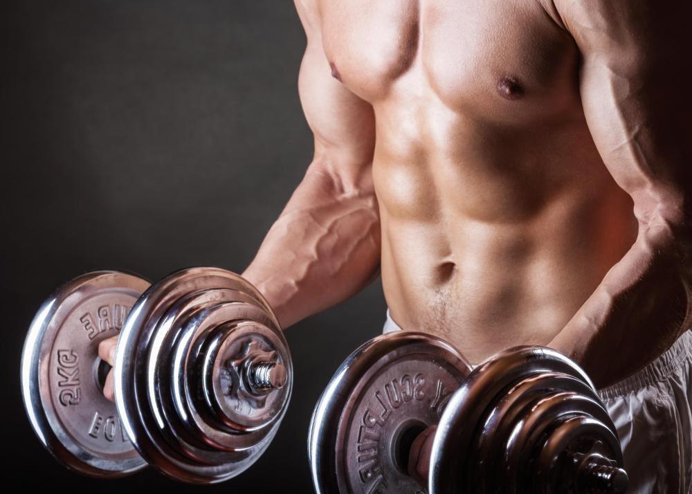 Anabolic hormones are used to promote muscle growth.