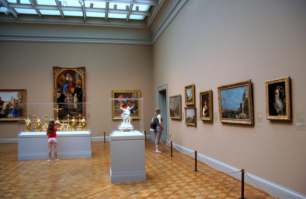 Museums have many arts industry jobs, for example, conservator or curator.