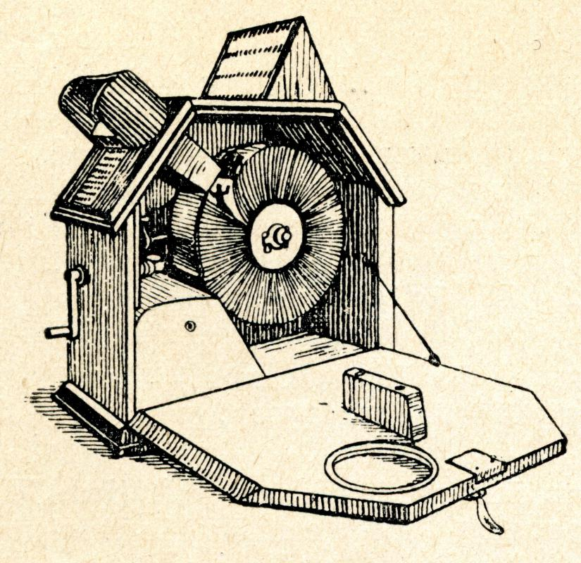 In 1894, Herman Casler invented the Mutoscope, which mechanized the process of flipbook animation.
