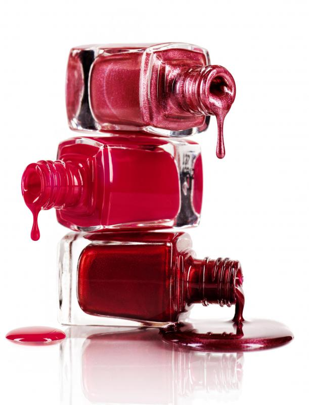 A nail bar will typically sell a wide variety of nail polish.