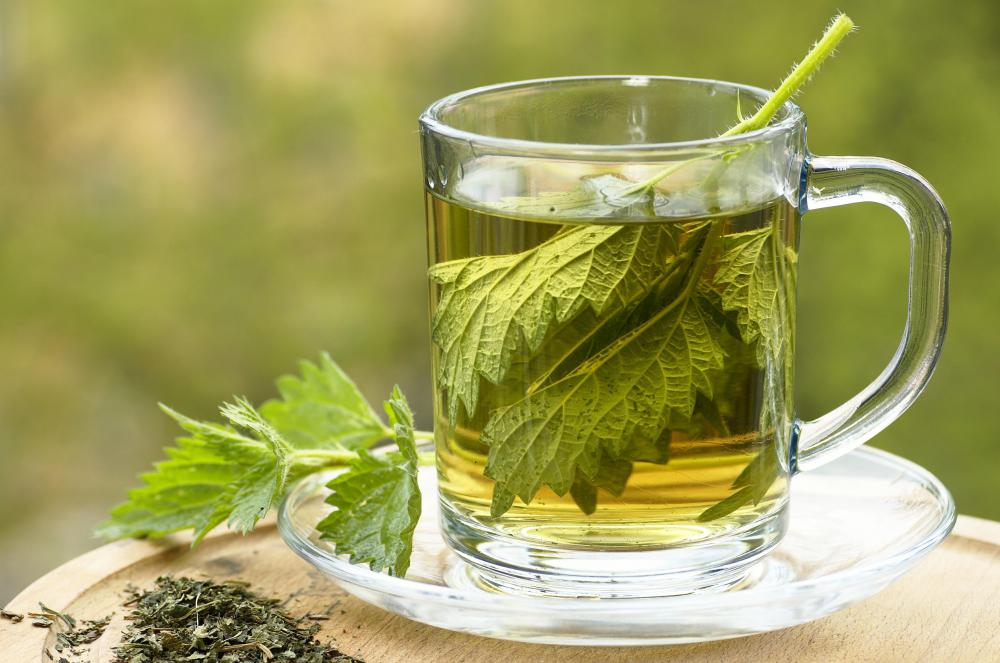 Some health benefits of nettle tea include relief form hay fever, premenstrual syndrome, and arthritis.