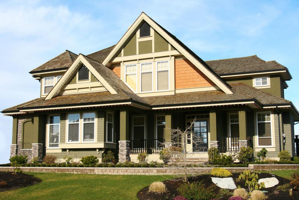 Balance and symetry of exterior features, like windows or light sconces, improves curb appeal.